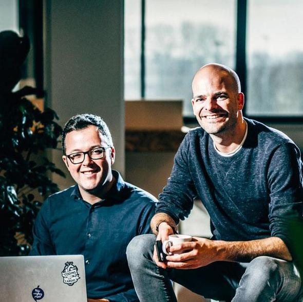 Louis Jonckheere et Pieterjan Bouten